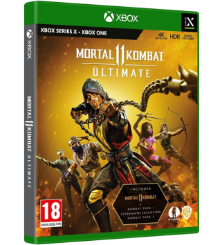 Mortal Kombat 11: Ultimate Limited Edition Xbox One / Xbox Series X (AT PEGI) (deutsch) [uncut]
