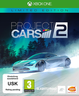 Project CARS 2 Limited Edition Xbox One (EU PEGI) (deutsch) [uncut]