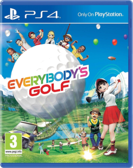 Everybody's Golf PS4 (EU PEGI) (deutsch) [uncut]