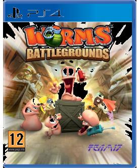 Worms Battlegrounds PS4 (EU PEGI) (deutsch) [uncut]