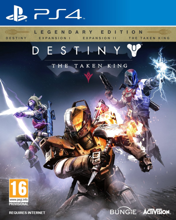 Destiny: König der Besessenen Legendäre Edition PS4 (AT PEGI) (deutsch) [uncut]