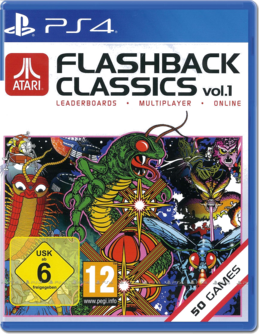 Atari Flashback Classics Vol. 1 PS4 (EU PEGI) (deutsch) [uncut]