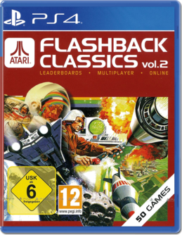 Atari Flashback Classics Vol. 2 PS4 (EU PEGI) (deutsch) [uncut]