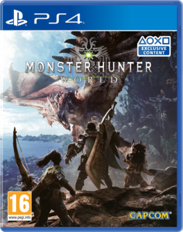 Monster Hunter: World PS4 (EU PEGI) (deutsch) [uncut]