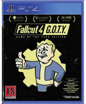 Fallout 4 Game of the Year Edition PS4 (EU PEGI) (deutsch) [uncut]