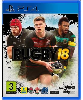 Rugby 18 PS4 (EU PEGI) (deutsch) [uncut]
