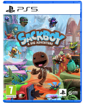 Sackboy: A Big Adventure PS5 (EU PEGI) (deutsch) [uncut]