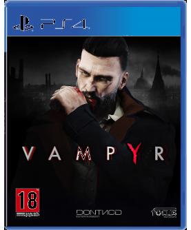 Vampyr PS4 (EU PEGI) (deutsch) [uncut]