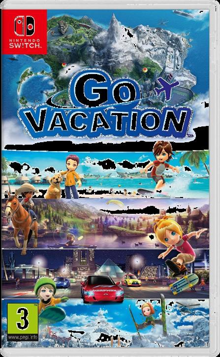Go Vacation Switch (EU PEGI) (deutsch) [uncut]