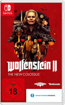 Wolfenstein II: The New Colossus Switch (EU PEGI) (deutsch) [uncut]