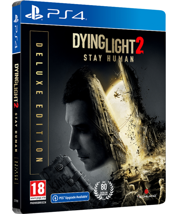 Dying Light 2 Stay Human Deluxe Steelbook Edition PS4 (AT PEGI) (deutsch) [uncut]