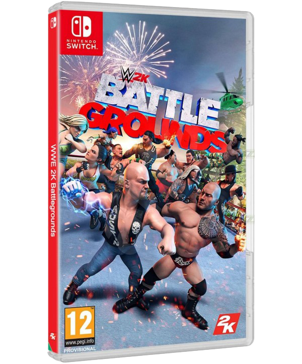 WWE 2K Battlegrounds Switch (EU PEGI) (deutsch) [uncut]