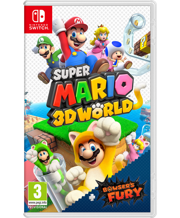 Super Mario 3D World + Bowser's Fury Switch (EU PEGI) (deutsch) [uncut]
