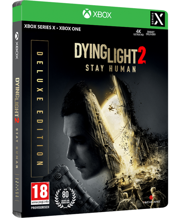 Dying Light 2 Stay Human Deluxe Steelbook Edition Xbox Series X / Xbox One (AT PEGI) (deutsch) [uncut]