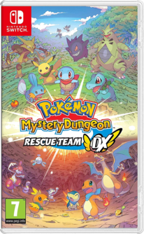 Pokemon Mystery Dungeon: Rescue Team DX Switch (EU PEGI) (deutsch) [uncut]