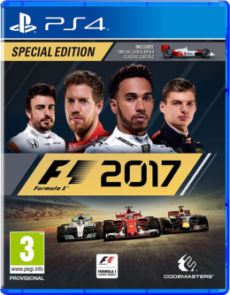 F1 2017 - Spezial Edition PS4 [deutsch/uncut]