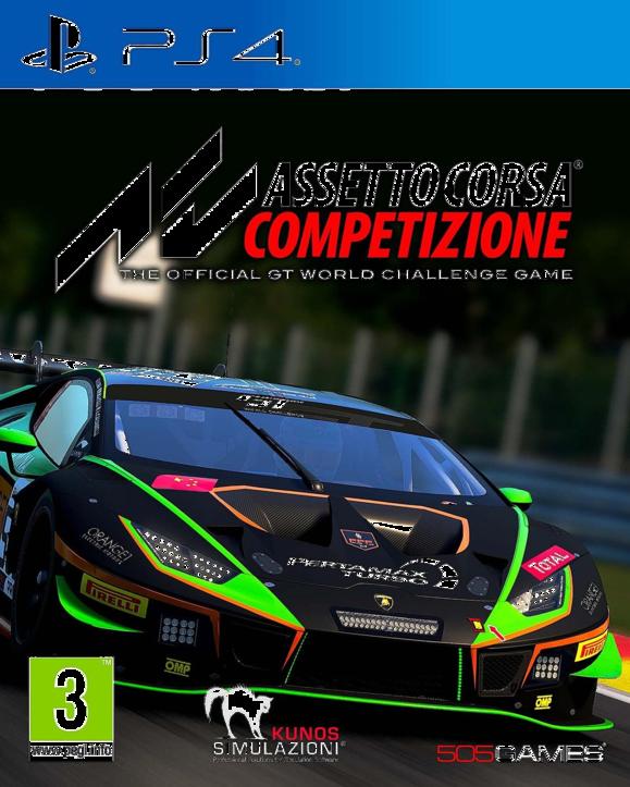 Assetto Corsa Competizione PS4 (EU PEGI) (deutsch) [uncut]
