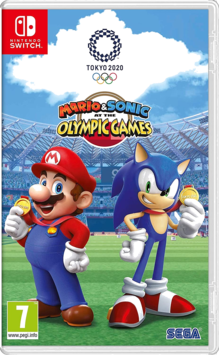 Mario and Sonic at the Olympic Games Tokyo 2020 Switch (EU PEGI) (deutsch) [uncut]