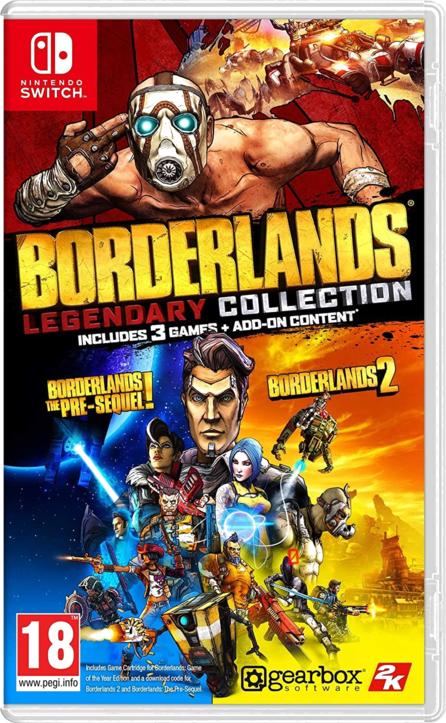 Borderlands Legendary Collection Switch (EU PEGI) (deutsch) [uncut]