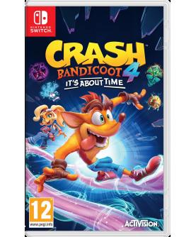 Crash Bandicoot 4: It's About Time Switch (EU PEGI) (deutsch) [uncut]