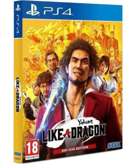 Yakuza: Like a Dragon - Day Ichi Edition - PS4 (EU PEGI) (deutsch) [uncut]