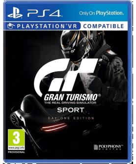 Gran Turismo Sport Day One Edition PS4 (PSVR) (EU PEGI) (deutsch)