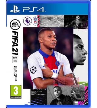 FIFA 21 Champions Edition PS4 + Vorabzugang ab 6. Oktober / bis zu 12 Gold-Packs (PEGI on Disk) (deutsch) [uncut]