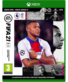 FIFA 21 Champions Edition Xbox One / Xbox Series X + Vorabzugang ab 6. Oktober / 12 Gold-Packs (PEGI on Disk) (deutsch) [uncut]