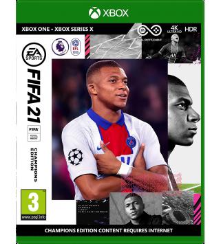 FIFA 21 Champions Edition Xbox One / Xbox Series X + Vorabzugang ab 6. Oktober / 12 Gold-Packs (PEGI on Disk) (deutsch) [uncut]