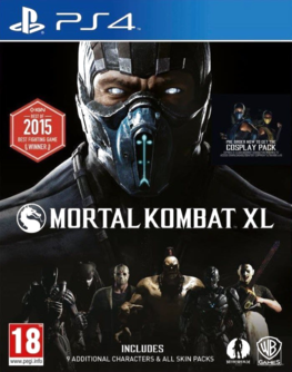 Mortal Kombat XL PS4 (EU PEGI) (deutsch) [uncut]