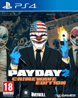 Payday 2 - Crimewave Edition PS4 (AT PEGI) (deutsch) [uncut]