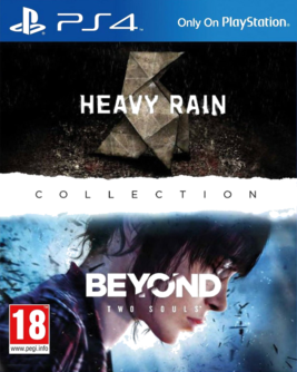 Quantic Dream Collection - Heavy Rain (deutsch) + Beyond: Two Souls (englisch) PS4 (EU PEGI) [uncut]