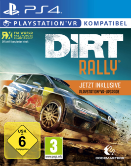 DiRT Rally PS4 + VR Upgrade (PSVR) (AT PEGI) (deutsch) [uncut]