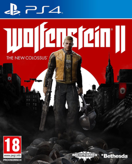 Wolfenstein II: The New Colossus PS4 (EU PEGI) inkl. Symbolik (englisch) [uncut]