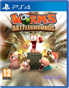 Worms Battlegrounds PS4 (EU PEGI) (deutsch) [uncut]