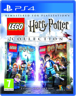 Lego Harry Potter Collection HD Remastered PS4 (AT PEGI) (deutsch) [uncut]