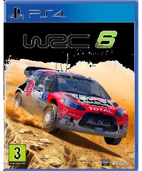 WRC 6 PS4 (EU PEGI) (deutsch) [uncut]