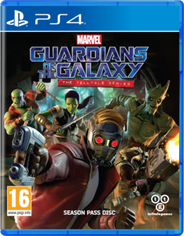 Guardians of the Galaxy: The Telltale Series PS4 (EU PEGI) (deutsch) [uncut]