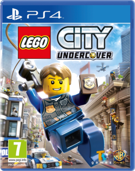 LEGO City: Undercover PS4 (EU PEGI) (deutsch) [uncut]