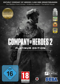 Company of Heroes 2 PC (Platinum Edition) (Steam-Code, Download) (EU PEGI) (deutsch) [uncut]