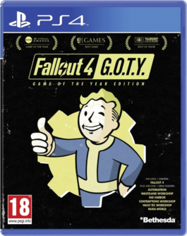 Fallout 4 Game of the Year Edition PS4 (EU PEGI) (deutsch) [uncut]