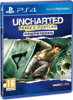 Uncharted: Drake's Fortune Remastered PS4 (EU PEGI) (deutsch) [uncut]