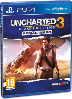 Uncharted 3: Drake's Deception Remastered PS4 (EU PEGI) (deutsch) [uncut]