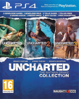 Uncharted: The Nathan Drake Collection PS4 (EU PEGI) (deutsch) [uncut]