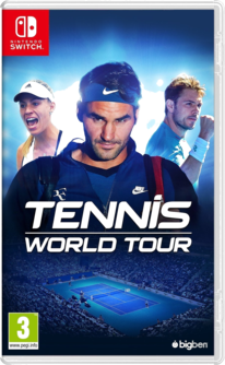 Tennis World Tour Switch (EU PEGI) (deutsch) [uncut]