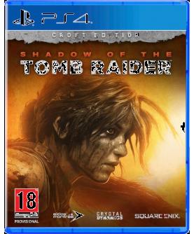 Shadow of the Tomb Raider: Croft Edition PS4 (EU PEGI) (deutsch) [uncut]