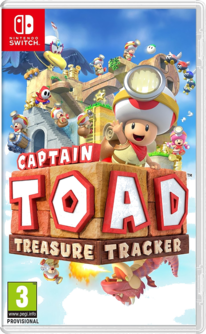 Captain Toad: Treasure Tracker Switch (EU Version) (deutsch) [uncut]
