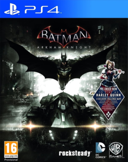 Batman: Arkham Knight PS4 + Pre-Order DLC Harley Quinn (AT PEGI) (deutsch) [uncut]