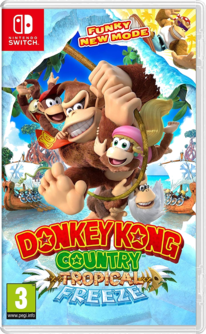 Donkey Kong Country: Tropical Freeze Switch (EU PEGI) (deutsch) [uncut]