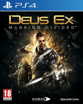 Deus Ex: Mankind Divided D1 Edition PS4 + Limitiertes Steelbook (AT PEGI) (deutsch) [uncut]